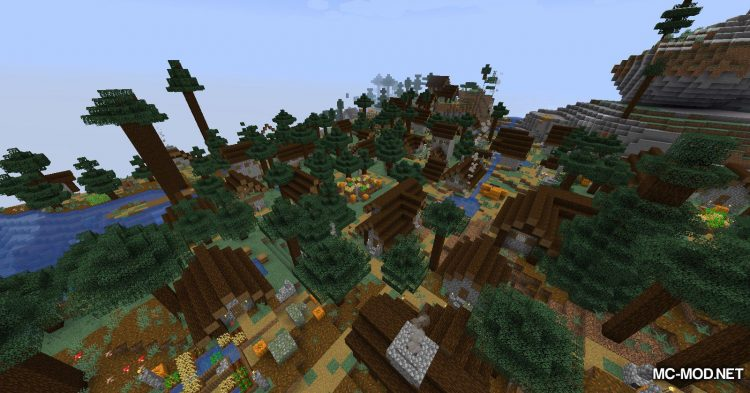 Over Populated mod for Minecraft (8)(1)