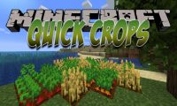 Quick Crops mod for Minecraft logo