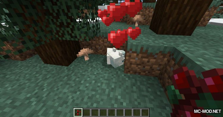 Sneak Through Berries mod for Minecraft (12)