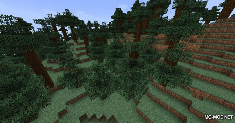 Sneak Through Berries mod for Minecraft (2)