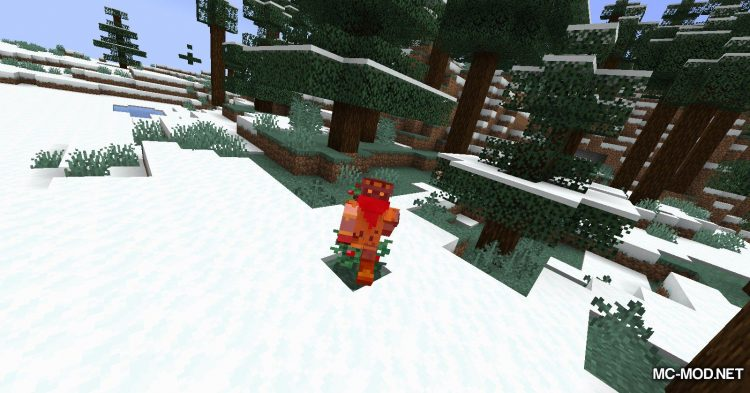 Sneak Through Berries mod for Minecraft (7)