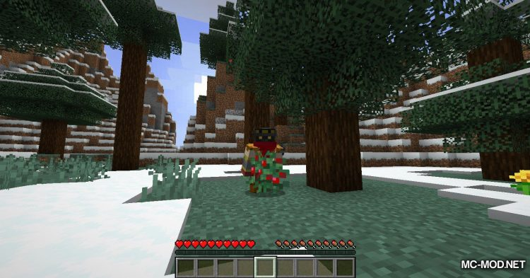 Sneak Through Berries mod for Minecraft (8)