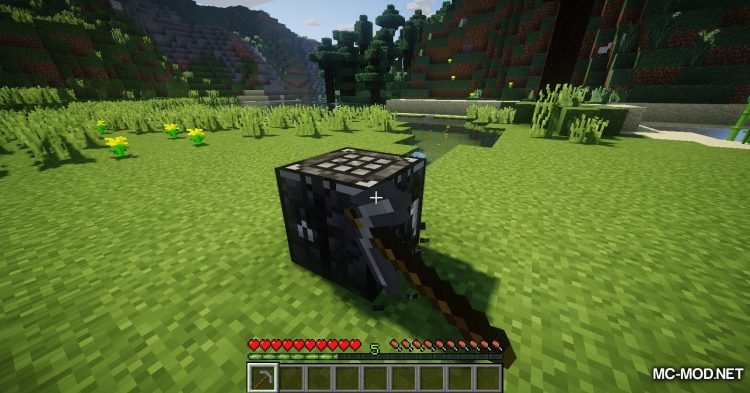 Stone Crafting Table mod for Minecraft (12)