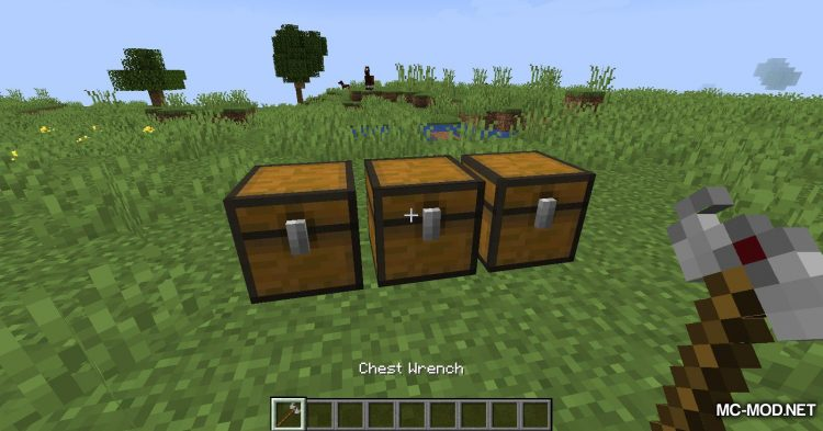 Wrenchest mod for Minecraft (13)