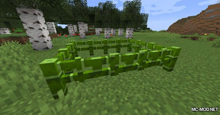 Bamboo Everything mod for Minecraft (10)