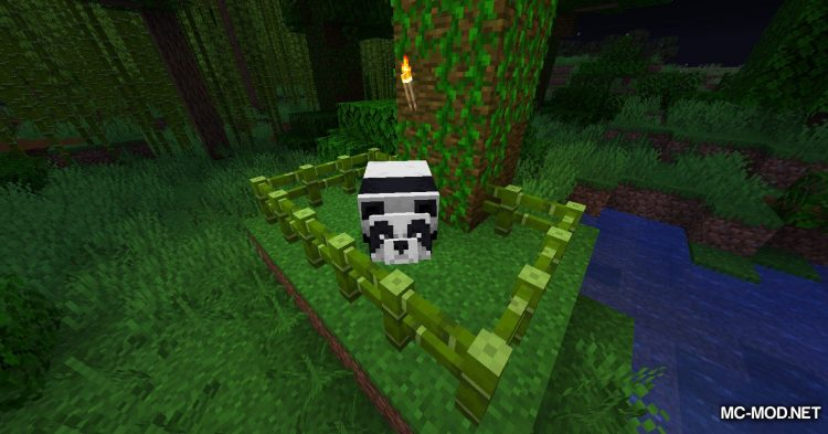 Bamboo Everything mod for Minecraft (11)