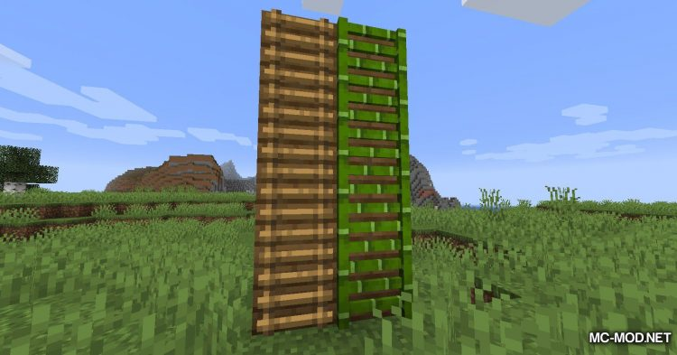 Bamboo Everything mod for Minecraft (12)