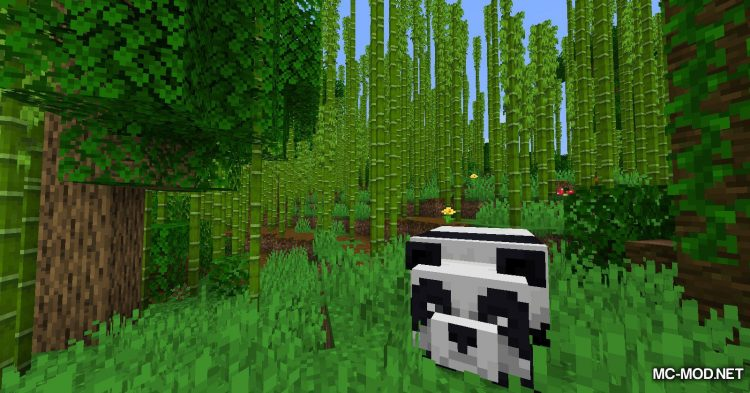 Bamboo Everything mod for Minecraft (6)