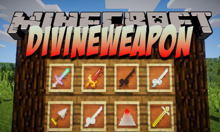 DivineWeapon mod for Minecraft logo
