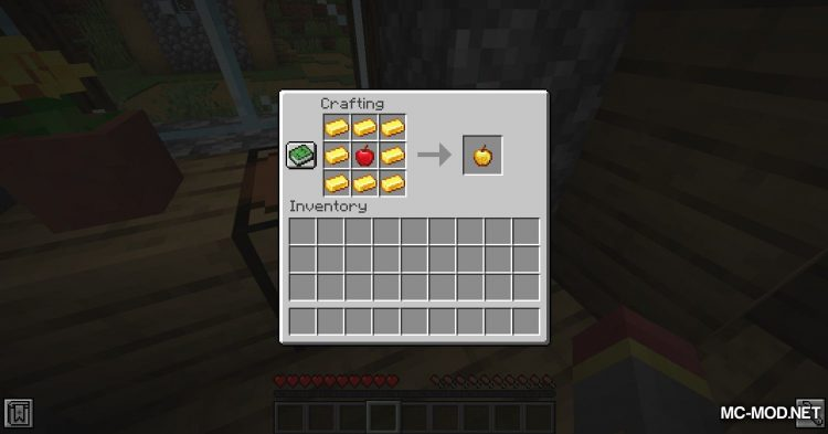 Enchanted Golden Apple Crafting mod for Minecraft (7)
