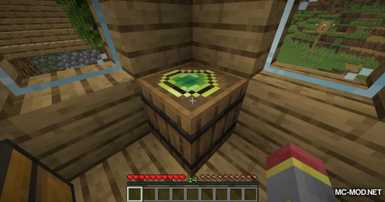 Experience Container mod for Minecraft (9)
