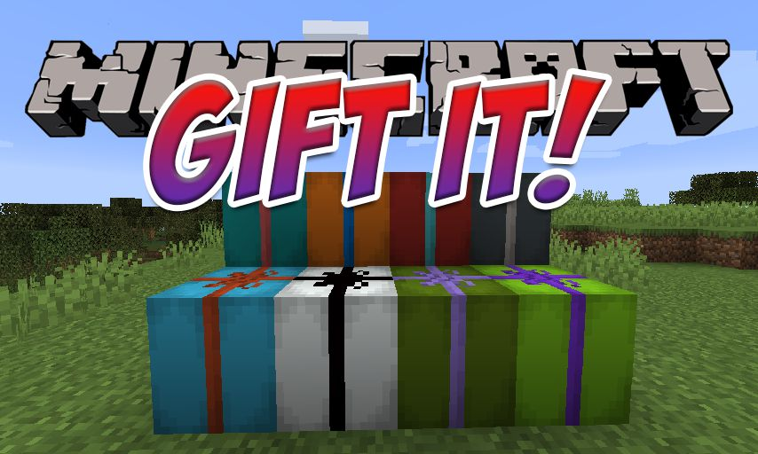 Gift It! mod for Minecraft logo