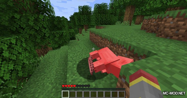 Hunger Remover mod for Minecraft (4)