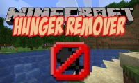 Hunger Remover mod for Minecraft logo