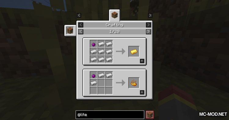 Lite Conversion mod for Minecraft (8)