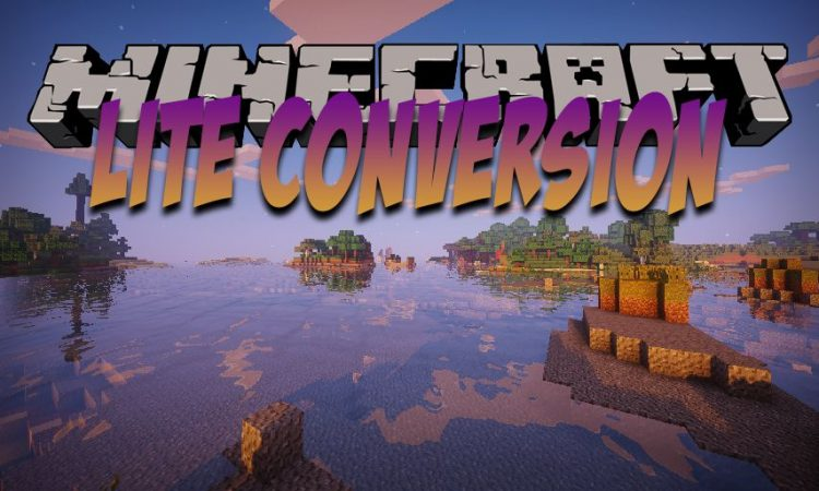 Lite Conversion mod for Minecraft logo