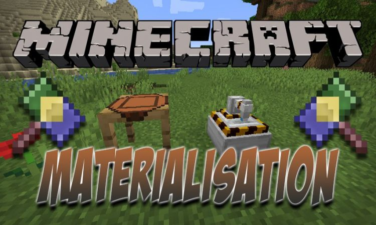 Materialisation mod for Minecraft logo