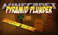 Pyramid Plunder mod for Minecraft logo
