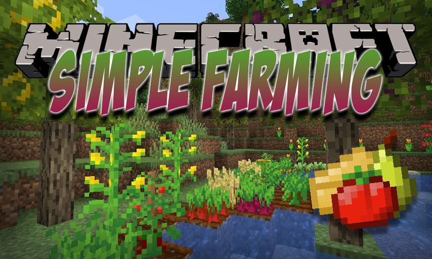Simple Farming mod for Minecraft logo