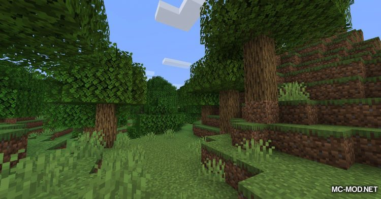 Trees Do Not Float mod for Minecraft (2)