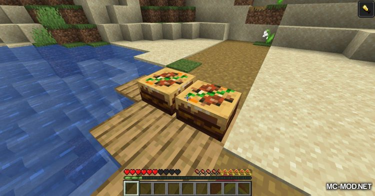 Well Fed mod for Minecraft (13)