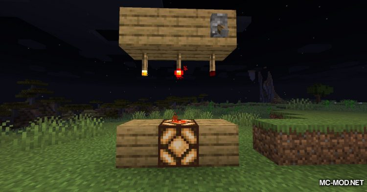 Ceiling Torch mod for Minecraft (8)