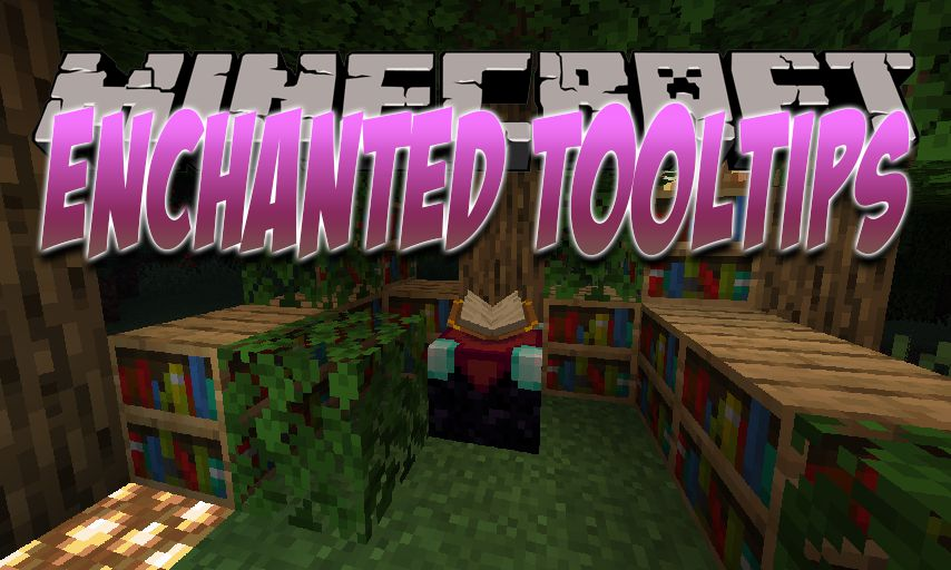 Enchanted ToolTips mod for Minecraft logo