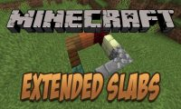 Extended Slabs mod for Minecraft logo