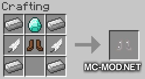 More Boots mod for Minecraft (20)