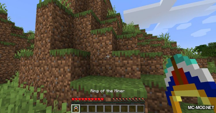 Ring of the Miner mod for Minecraft (8)