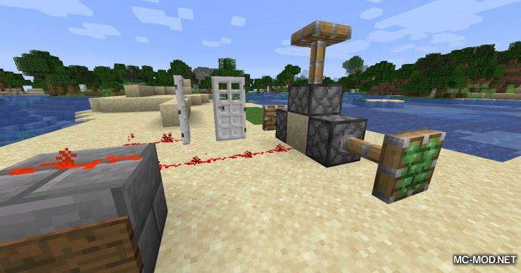 Sign Button mod for Minecraft (12)