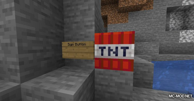 Sign Button mod for Minecraft (6)