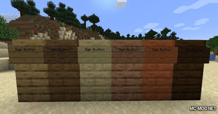Sign Button mod for Minecraft (9)