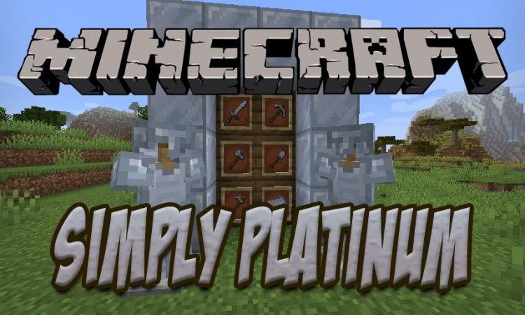 Simply Platinum mod for Minecraft logo