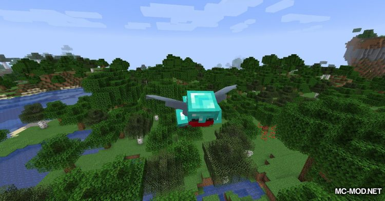Colytra mod for Minecraft (11)