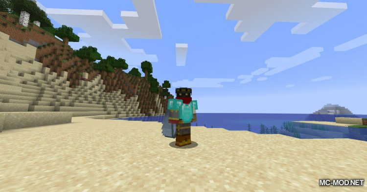 Colytra mod for Minecraft (3)