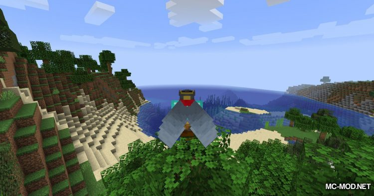 Colytra mod for Minecraft (4)