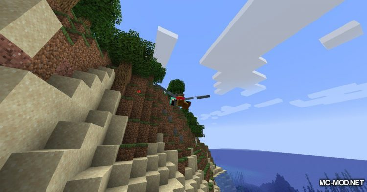 Colytra mod for Minecraft (6)