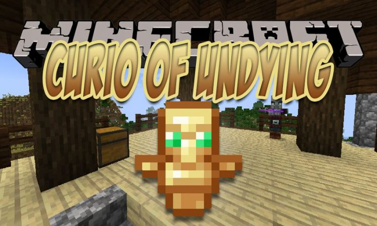 Curio of Undying mod for Minecraft logo