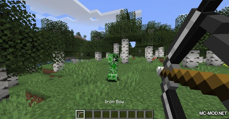 Extra Bows mod for Minecraft (10)