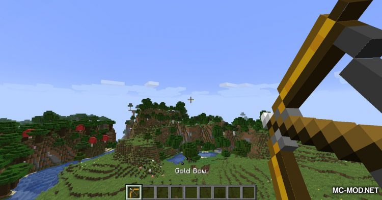 Extra Bows mod for Minecraft (13)