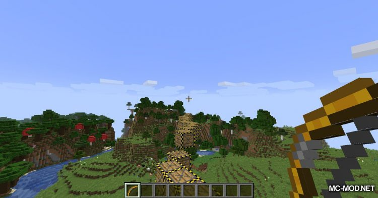 Extra Bows mod for Minecraft (14)
