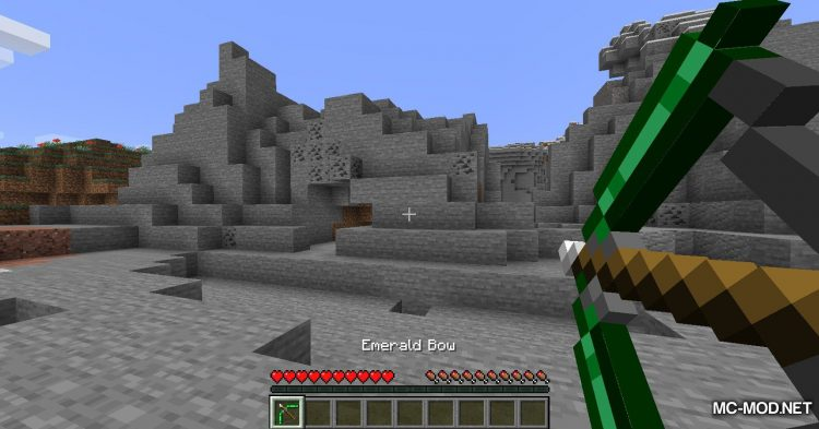 Extra Bows mod for Minecraft (2)