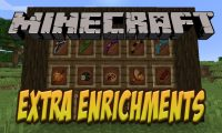 Extra Enrichments mod for Minecraft logo