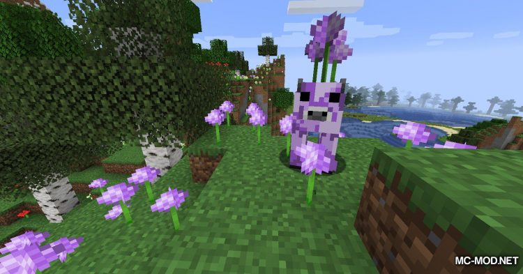 Mooblooms mod for Minecraft (4)