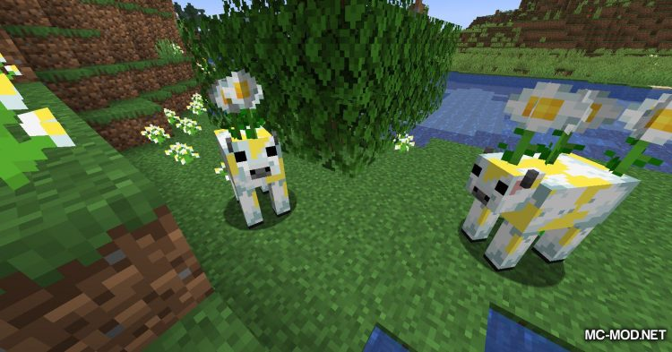 Mooblooms mod for Minecraft (5)
