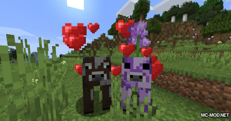 Mooblooms mod for Minecraft (6)