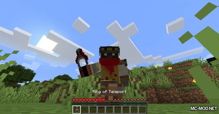 Ring of Teleport mod for Minecraft (6)