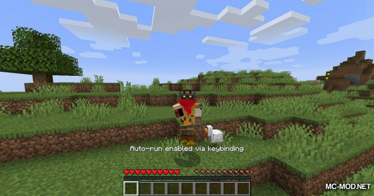 Auto Sprint Key Toggle mod for Minecraft (7)