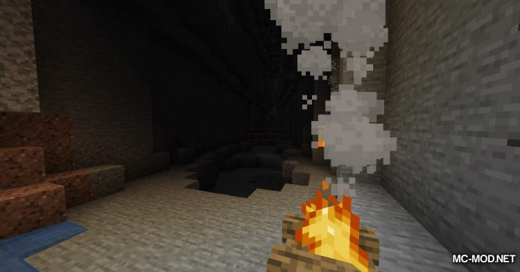 Campfire Incense mod for Minecraft (10)